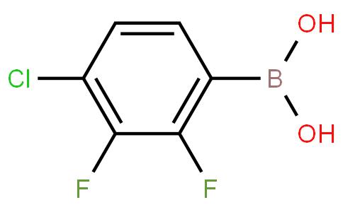 2,3-二氟-4-氯苯硼酸
