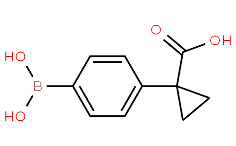 1-(4-boronophenyl)cyclopropanecarboxylic acid