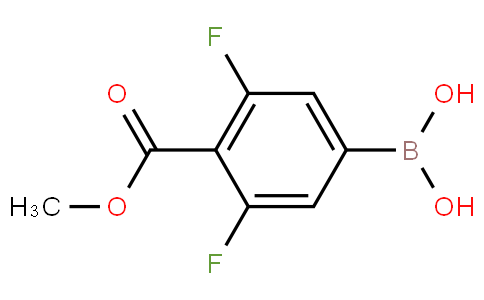 (3,5-difluoro-4-(methoxycarbonyl)phenyl)boronic acid