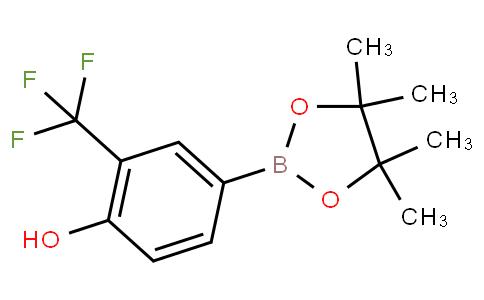 4-(4,4,5,5-tetramethyl-1,3,2-dioxaborolan-2-yl)-2-(trifluoromethyl)phenol