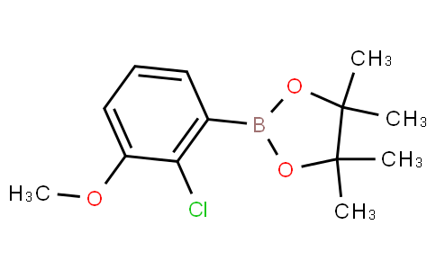 2-(2-chloro-3-methoxyphenyl)-4,4,5,5-tetramethyl-1,3,2-dioxaborolane