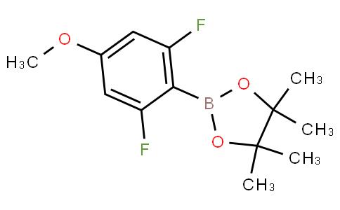 2,6-二氟-4-甲氧基苯硼酸频呢醇酯