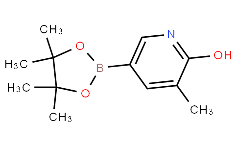 3-methyl-5-(4,4,5,5-tetramethyl-1,3,2-dioxaborolan-2-yl)pyridin-2-ol