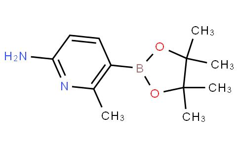 6-甲基-5-(4,4,5,5-四甲基-1,3,2-二氧杂环戊硼烷-2-基)吡啶-2-胺