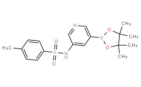 4-甲基-N-(5-(4,4,5,5-四甲基-1,3,2-二氧杂环戊硼烷-2-基)吡啶-3-基)苯磺酰胺
