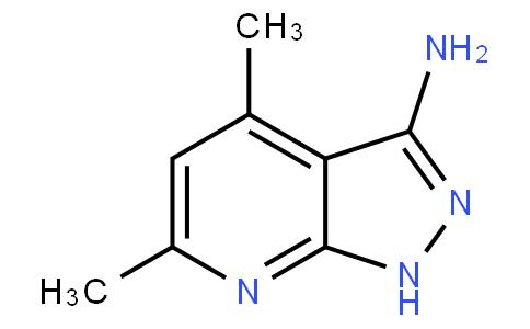 4,6-二甲基-3-氨基吡唑并[3,4-B]吡啶