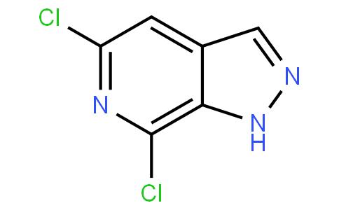 5,7-二氯-1H-吡唑并[3,4-C]吡啶