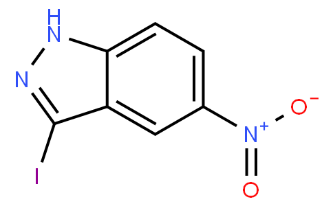 3-碘-5-硝基-1H-吲唑