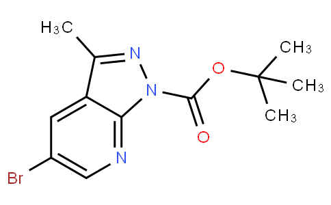 tert-butyl 5-bromo-3-methyl-1H-pyrazolo[3,4-b]pyridine-1-carboxylate