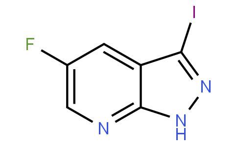 5-fluoro-3-iodo-1H-pyrazolo[3,4-b]pyridine