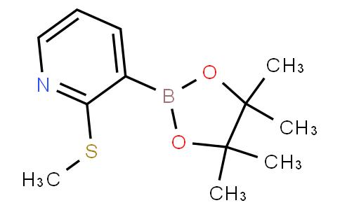 2-(甲硫基)吡啶-3-硼酸频哪酯,9 5%