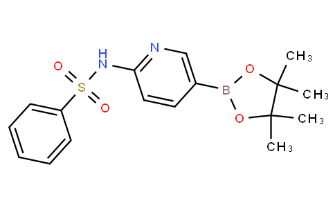 N-(5-(4,4,5,5-tetramethyl-1,3,2-dioxaborolan-2-yl)pyridin-2-yl)benzenesulfonamide