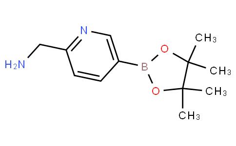 (5-(4,4,5,5-tetramethyl-1,3,2-dioxaborolan-2-yl)pyridin-2-yl)methanamine