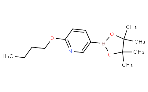 2-butoxy-5-(4,4,5,5-tetramethyl-1,3,2-dioxaborolan-2-yl)pyridine
