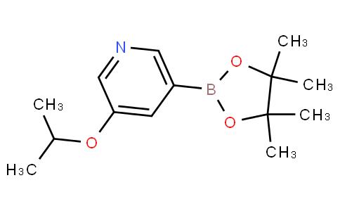 5-异丙氧基吡啶-3-硼酸频哪酯