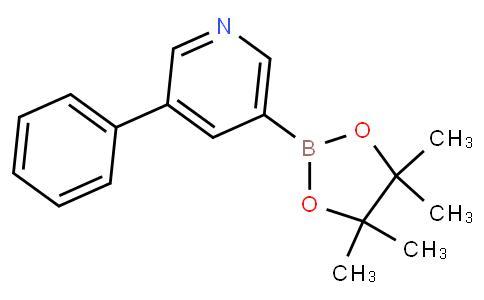 (5-苯基吡啶-3-基)硼酸,频哪酯
