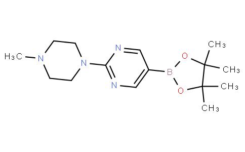 2-(4-甲基哌嗪)吡啶-5-硼酸四甲基丙醇酯