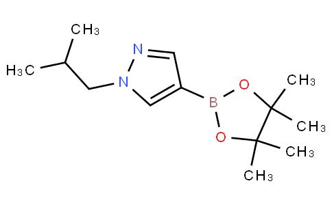 1-isobutyl-4-(4,4,5,5-tetramethyl-1,3,2-dioxaborolan-2-yl)-1H-pyrazole