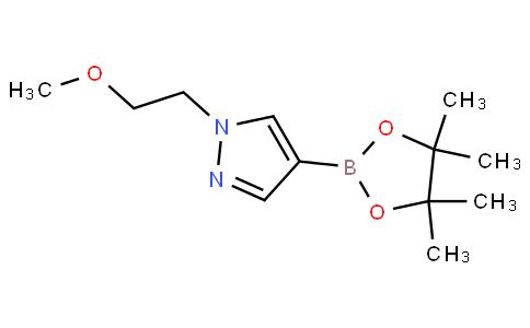 1-(2-甲氧基乙基)-4-(4,4,5,5-四甲基-1,3,2-二噁硼烷-2-基)-1H-吡唑