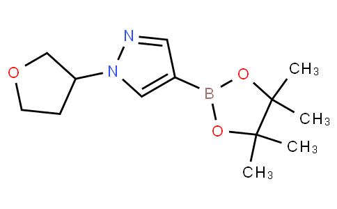 1-(tetrahydrofuran-3-yl)-4-(4,4,5,5-tetramethyl-1,3,2-dioxaborolan-2-yl)-1H-pyrazole