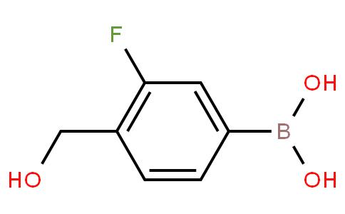 (3-fluoro-4-(hydroxymethyl)phenyl)boronic acid