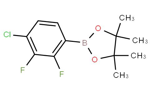 2-(4-chloro-2,3-difluorophenyl)-4,4,5,5-tetramethyl-1,3,2-dioxaborolane