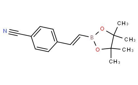 (E)-4-(2-(4,4,5,5-tetramethyl-1,3,2-dioxaborolan-2-yl)vinyl)benzonitrile