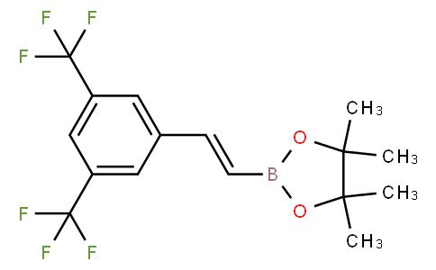 (E)-2-(3,5-bis(trifluoromethyl)styryl)-4,4,5,5-tetramethyl-1,3,2-dioxaborolane