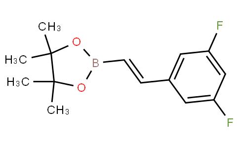 反式-2-(3,5-二氟苯基)乙烯基硼酸频那醇酯