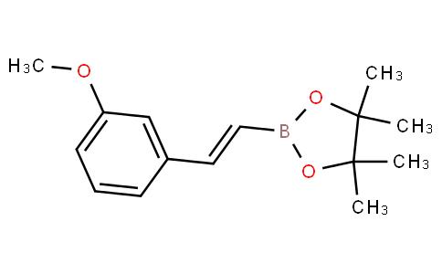 反式-2-(3-甲氧基苯基)乙烯基硼酸频那醇酯