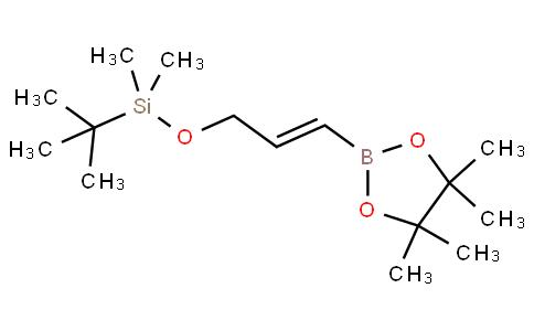 (E)-tert-butyldimethyl((3-(4,4,5,5-tetramethyl-1,3,2-dioxaborolan-2-yl)allyl)oxy)silane