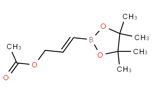 (E)-3-(4,4,5,5-tetramethyl-1,3,2-dioxaborolan-2-yl)allyl acetate