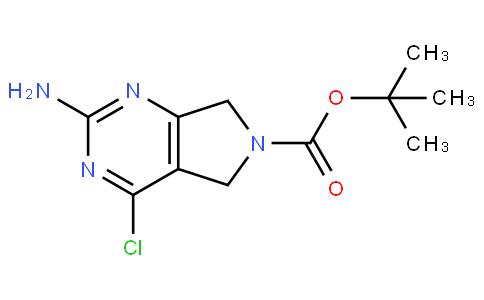 tert-butyl 2-amino-4-chloro-5H-pyrrolo[3,4-d]pyrimidine-6(7H)-carboxylate