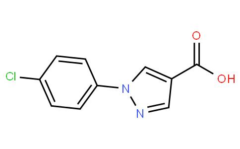 1-(4-氯苯基)吡唑-4-甲酸