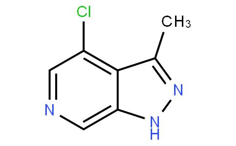 4-chloro-3-methyl-1H-pyrazolo[3,4-c]pyridine