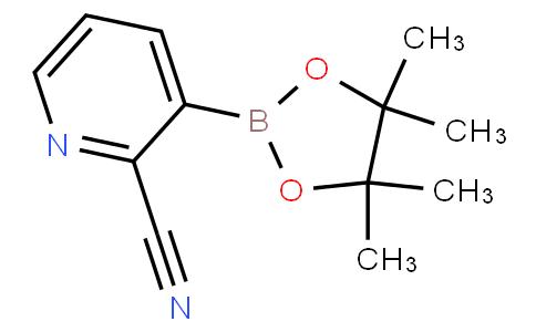 3-(4,4,5,5-tetramethyl-1,3,2-dioxaborolan-2-yl)picolinonitrile