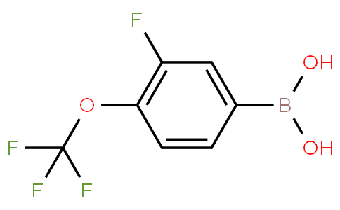 3-fluoro-4-(trifluoromethoxy)phenylboronic acid