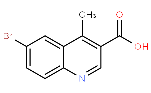 6-bromo-4-methylquinoline-3-carboxylic acid