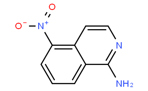 5-nitroisoquinolin-1-amine