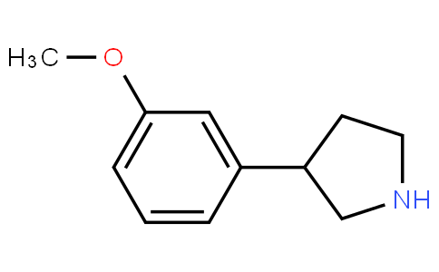 3-(3-methoxyphenyl)pyrrolidine