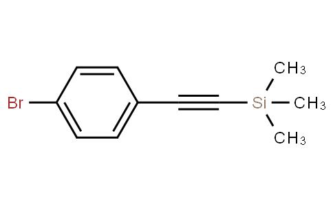 ((4-bromophenyl)ethynyl)trimethylsilane