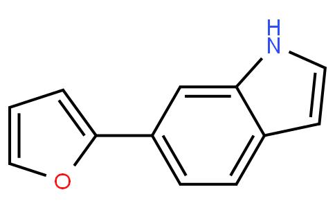 6-呋喃-2-基-1H-吲哚