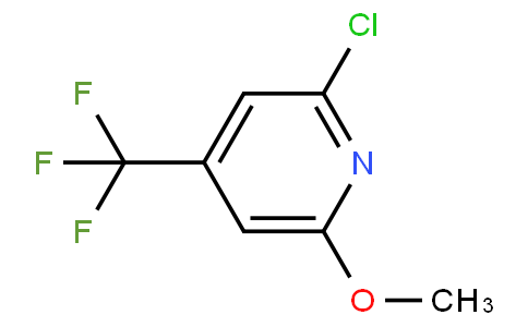 2-chloro-6-methoxy-4-(trifluoromethyl)pyridine