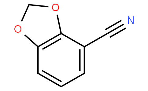 benzo[d][1,3]dioxole-4-carbonitrile