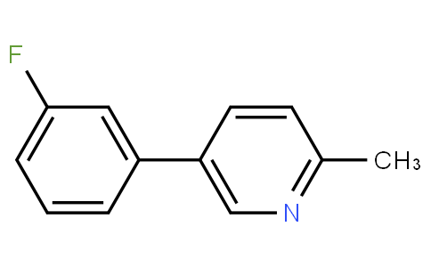 5-(3-fluorophenyl)-2-methylpyridine