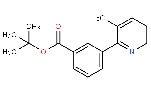 tert-butyl 3-(3-methylpyridin-2-yl)benzoate