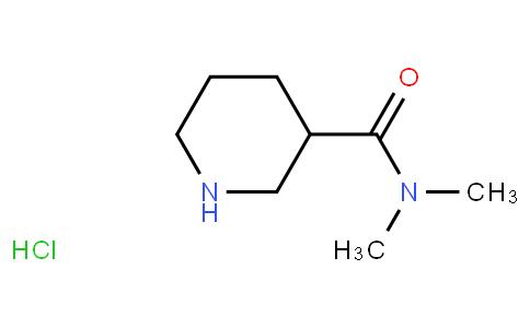 N,N-dimethylpiperidine-3-carboxamide hydrochloride