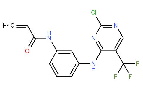 N-(3-((2-chloro-5-(trifluoromethyl)pyrimidin-4-yl)amino)phenyl)acrylamide