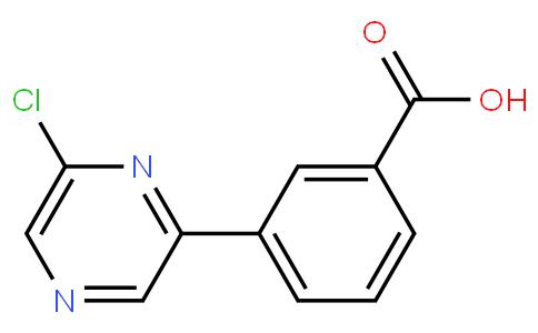 3-(6-chloropyrazin-2-yl)benzoic acid