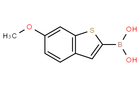 (6-methoxybenzo[b]thiophen-2-yl)boronic acid